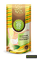 Green Ginger зеленый кофе с ИМБИРЕМ для похудения