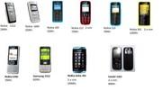 Nokia 1112,  Nokia112. Nokia101,   Nokia 301,  Samsung 3322,  Samsung1202