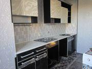 кухонный гарнитур лдсп, акрил, столешник, раковина, сушка