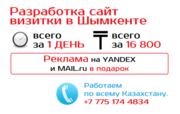 Создание сайтов в Шымкенте от 16800 тг.
