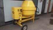 Бетономешалка 500 литров,  передвижная на колесах