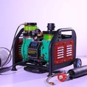 Электрический компрессор высокого давления безмасляный 400 Бар,  220 Во