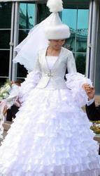 Прокат национальных свадебных платьев